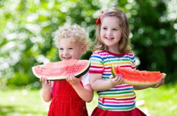watermelons child summer deti arbuz ulybka leto